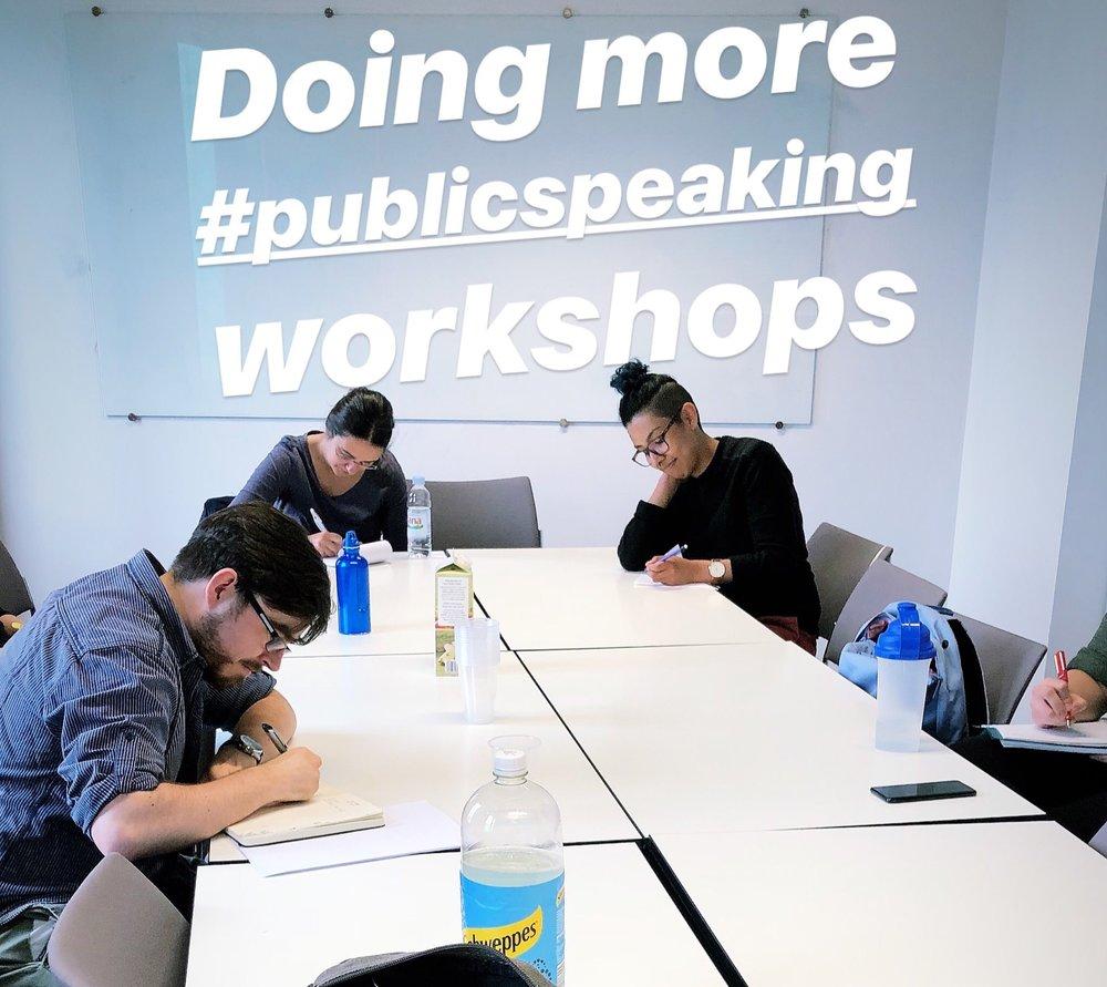 iszi writing workshop