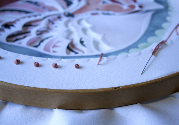 Adding French Knots