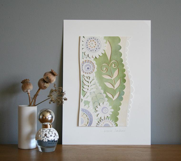 Mini Floral Papercut