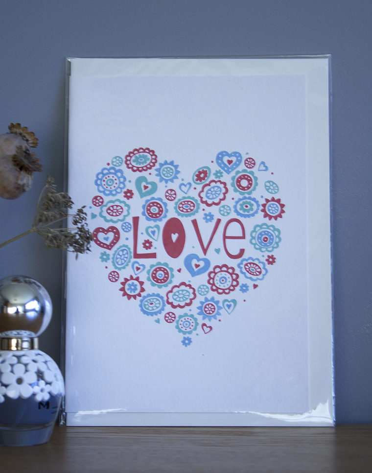 """Love"" Mothers Day Card"