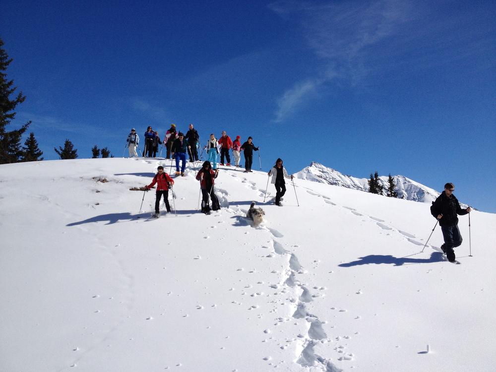 Schneeschuhlaufen_Aktiv_Ferien_Lenzerheide