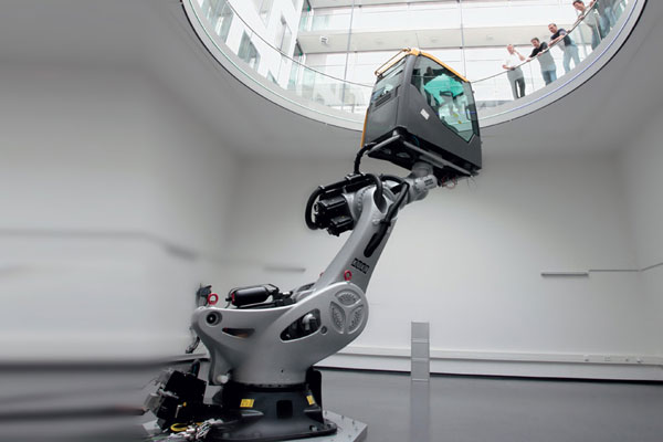 Vehicle Simulation at Fraunhofer Institut