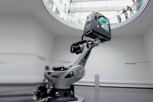 Vehicle Simulation at Fraunhofer Institut