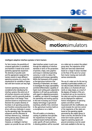 Intelligent adaptive interface systems in farm tractors  (03/2015 | 486 KB)
