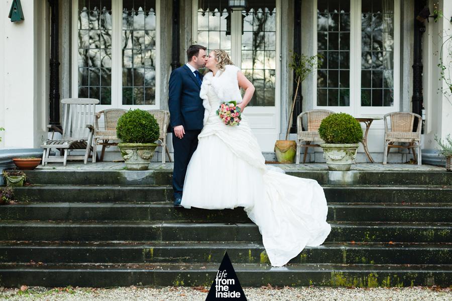 bruidsfotograaf bij Koetshuis Anneville