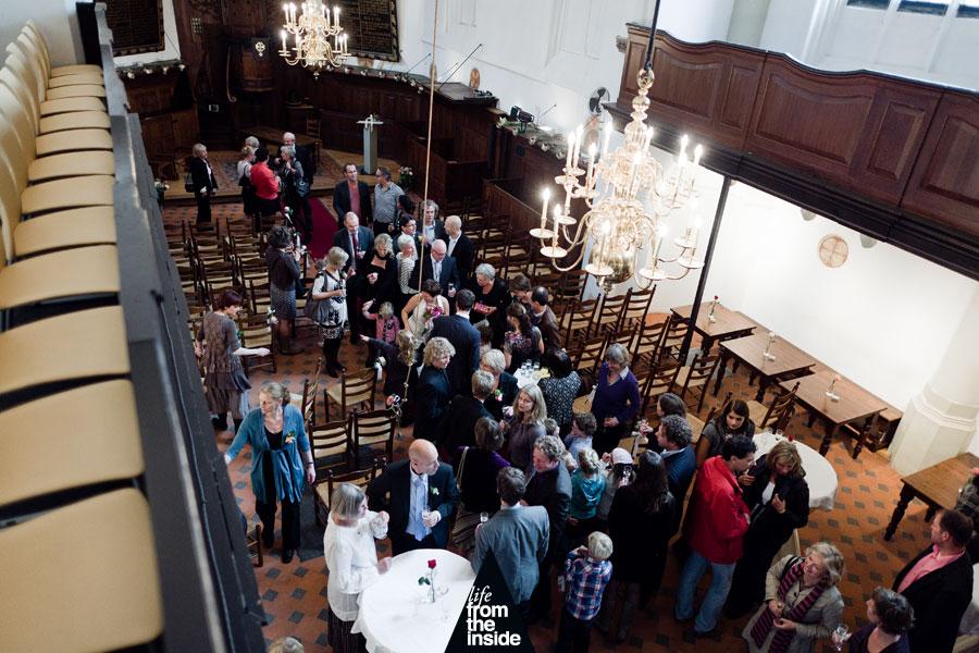 Trouwfotografie Waalse Kerk Breda