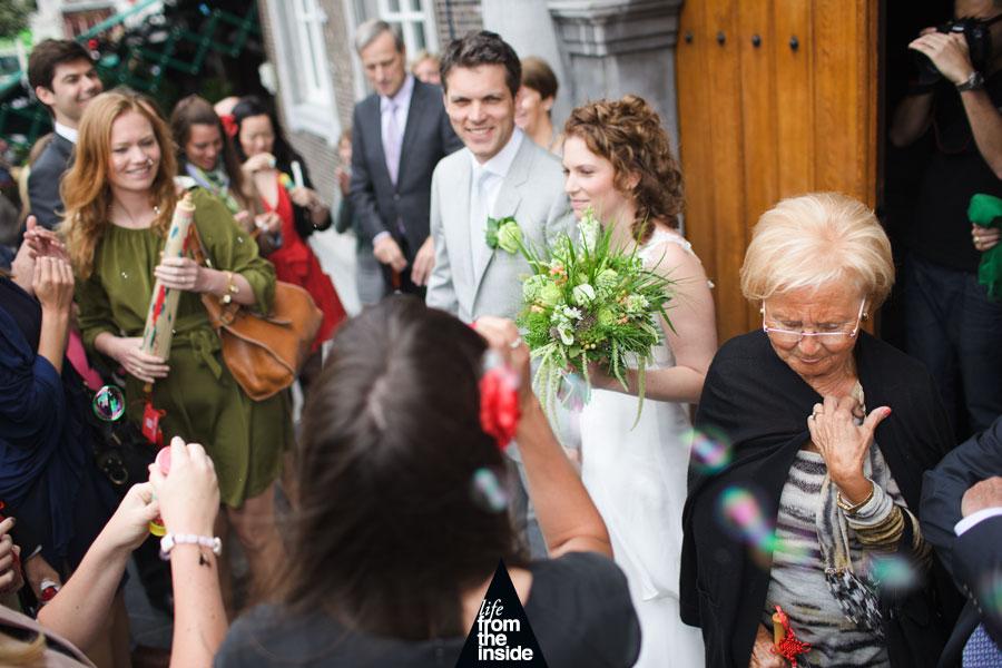 Gertjan & Saskia - Trouwen Stadhuis Breda