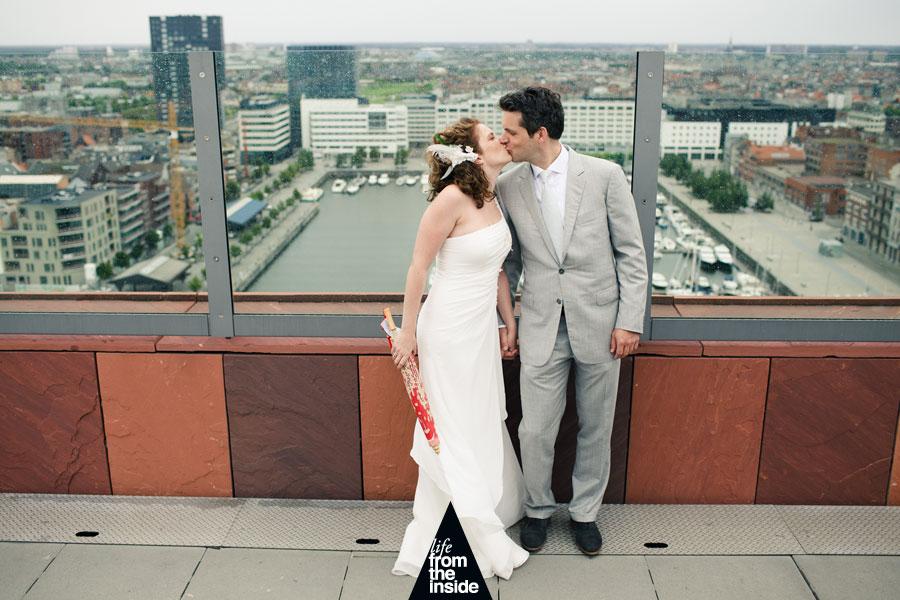 Gertjan & Saskia - Bruidsfoto MAS Antwerpen