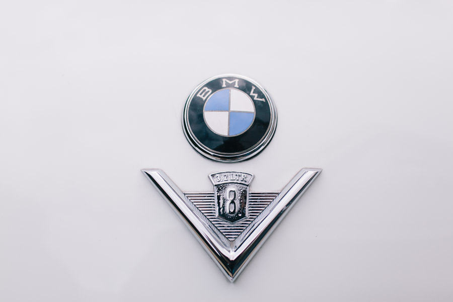 BMW oldtimer 3.2 V8
