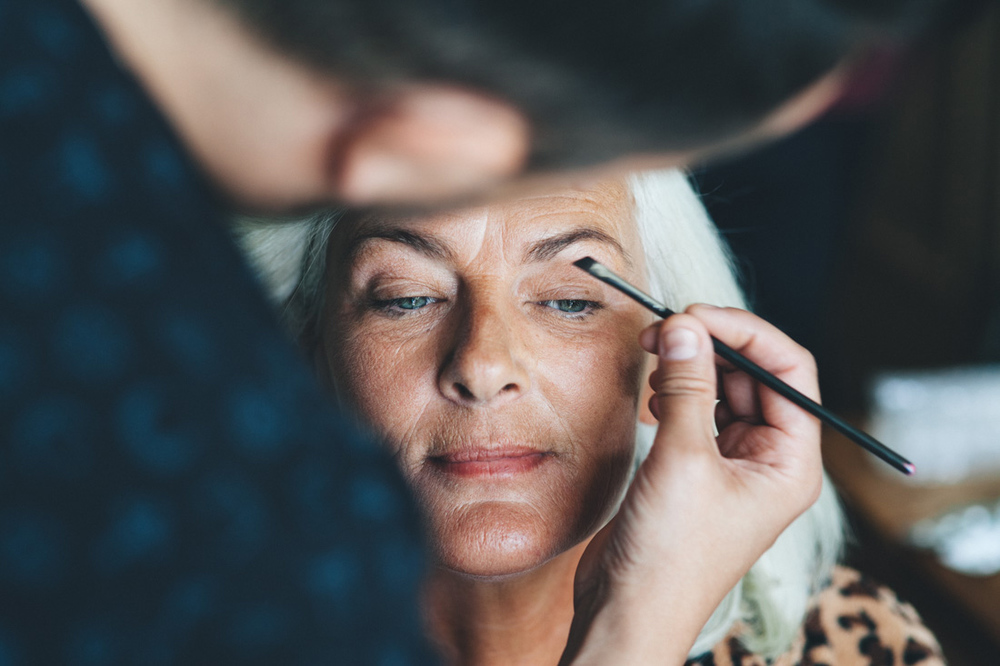 Paul Benjamin makeup artist voor een bruiloft