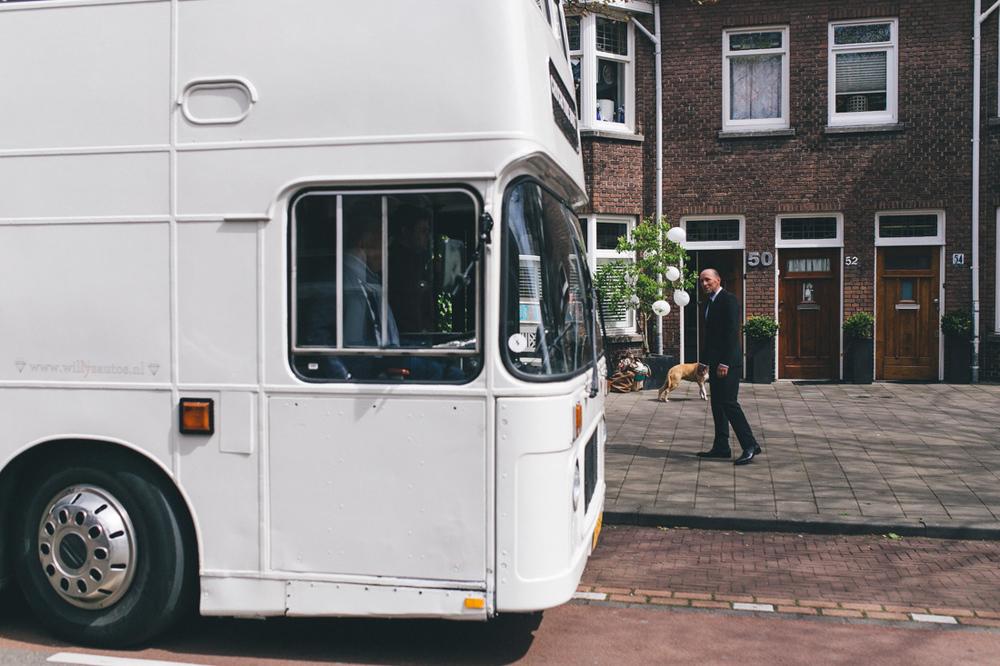 Trouwvervoer catch the bus in den haag
