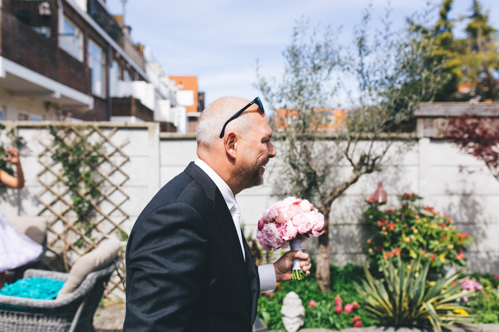 First look of the groom in the hague the netherlands