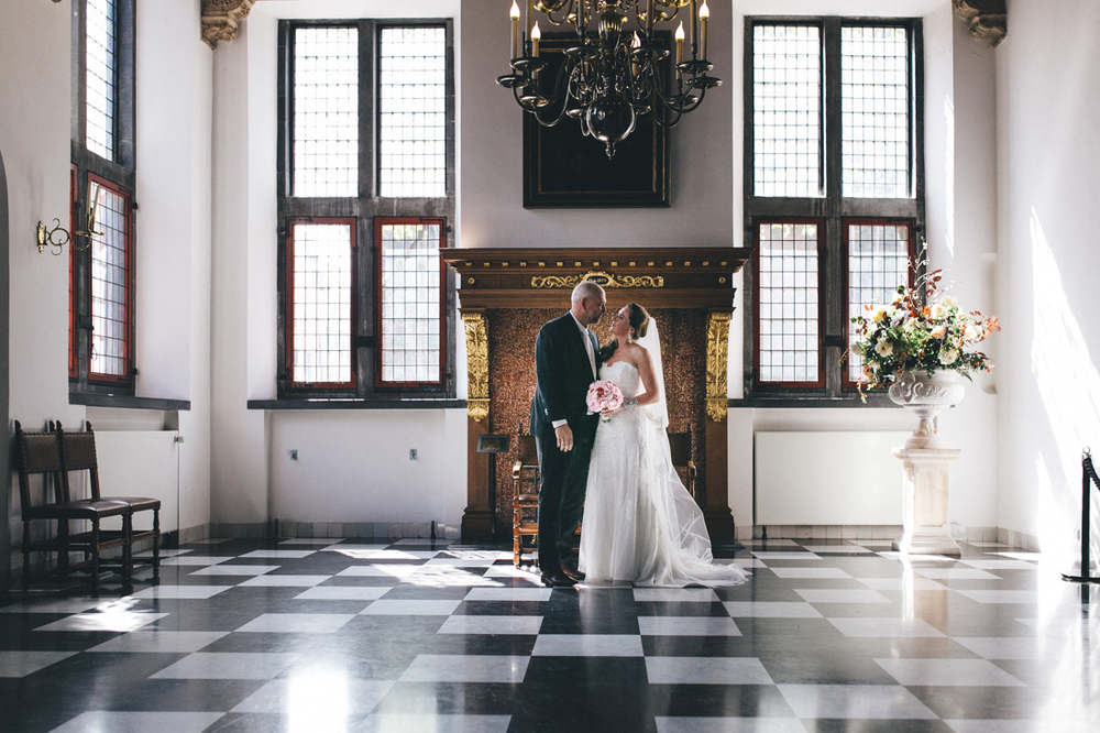 Bruidsfotograaf den haag stadhuis
