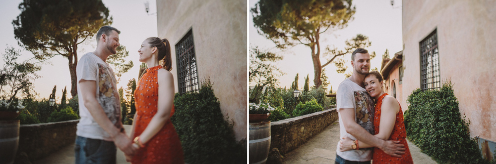 Wedding photographer Greve in Chianti Florence at Villa Vignamag