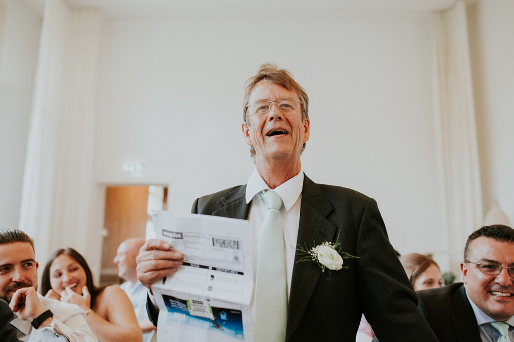 speeches at english wedding in leiden the netherlands