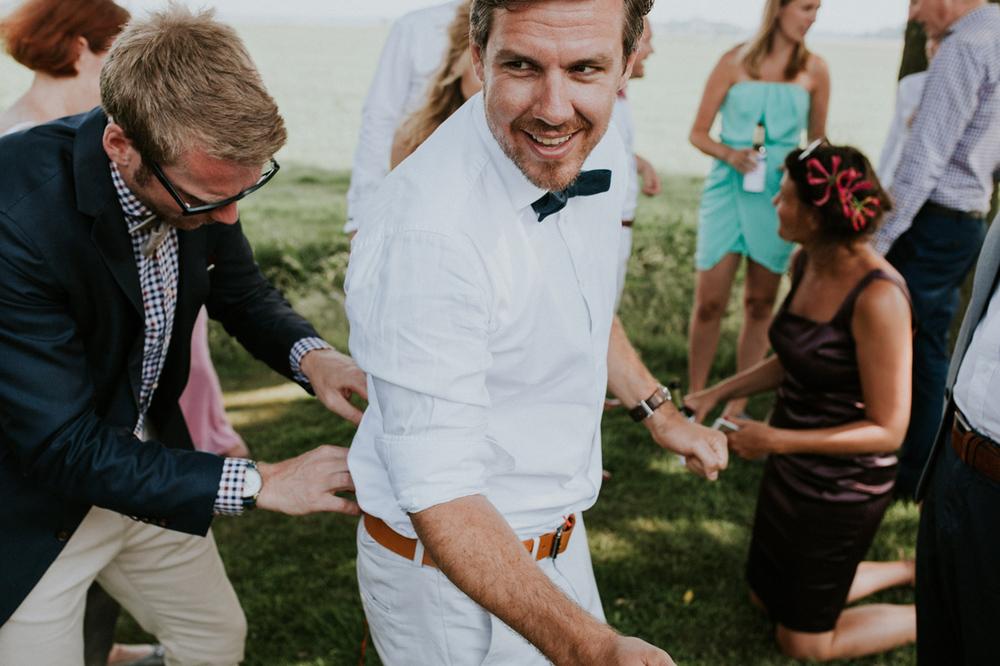 ouderwets spijkerpoepen op je bruiloft, leuke tip