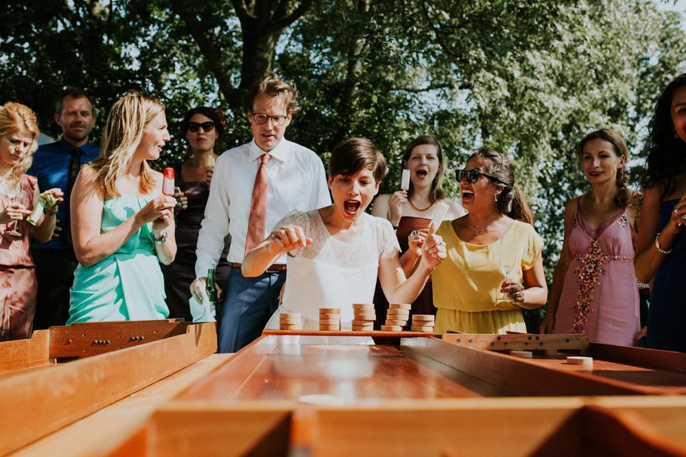 spelletjes spelen op je bruiloft bij it flinkeboske