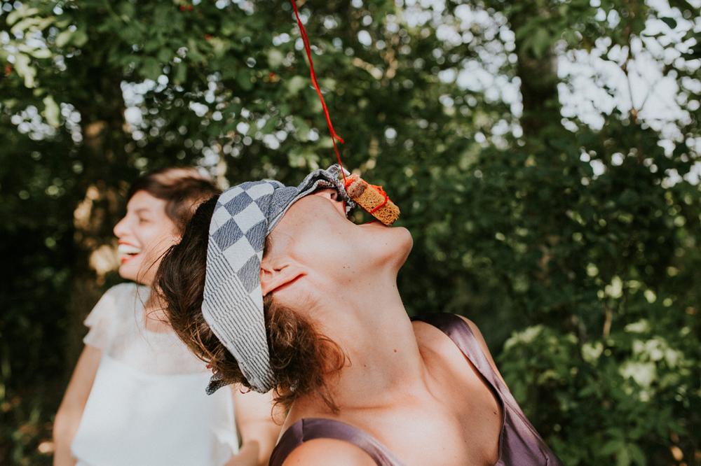 ouderwets koekhappen op je bruiloft, super idee