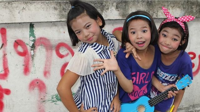 Students from Thailand's Khlong Toey Music Program