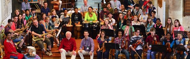 2014 Grand Union Orchestra Summer School participants