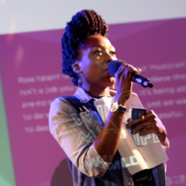 Delicia Edgar, singer, songwriter and musician. Wired4Music Leadership Programme Fellow