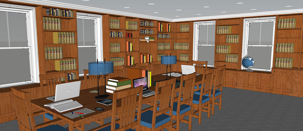 Rendering of Future Research Library