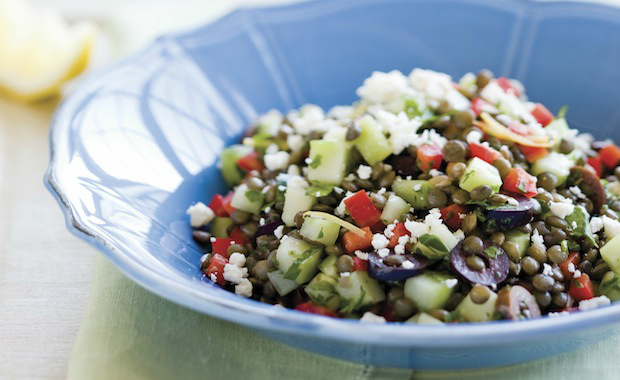The cancer fighting kitchen rebecca katz ms author educator mediterranean lentil salad forumfinder Image collections