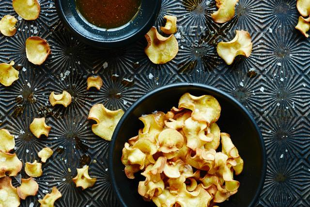 Try my crispy Baked Parsnip Chips - Rebecca Katz