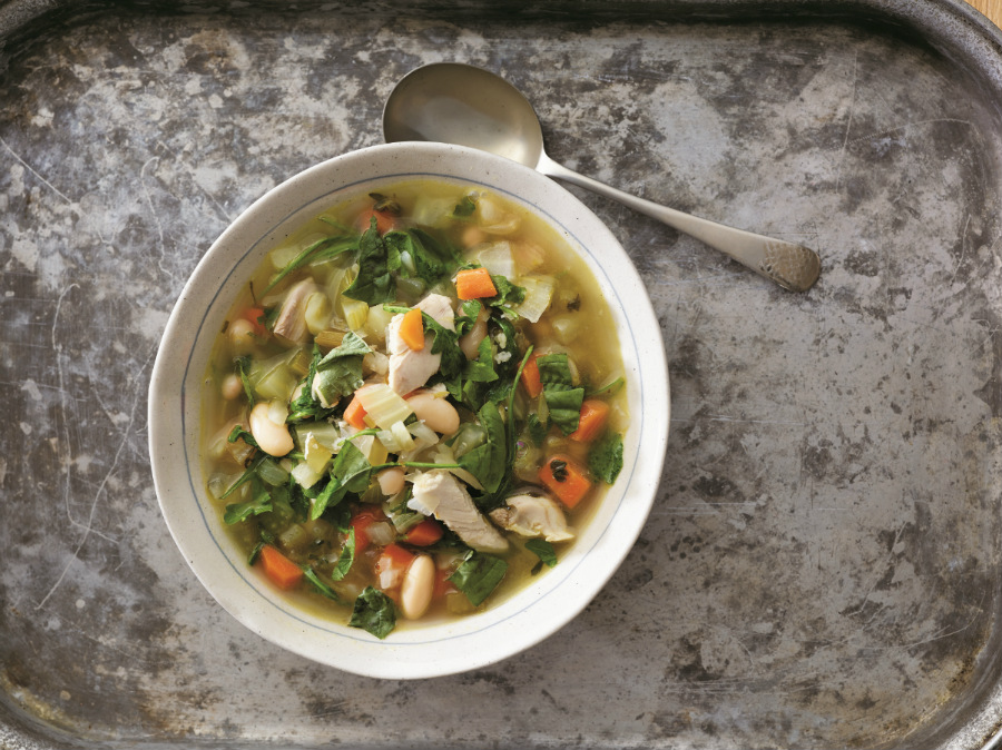 Robust Chicken Soup - Rebecca Katz
