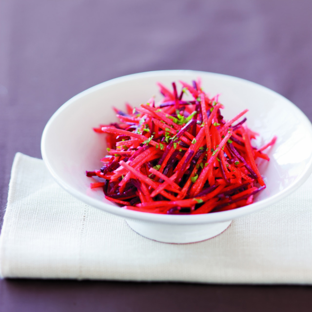 Shredded Carrot and Beet Salad