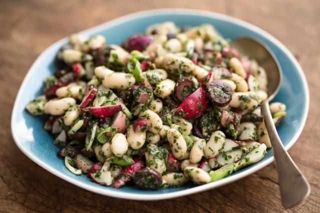 ITALIAN WHITE BEAN SALAD