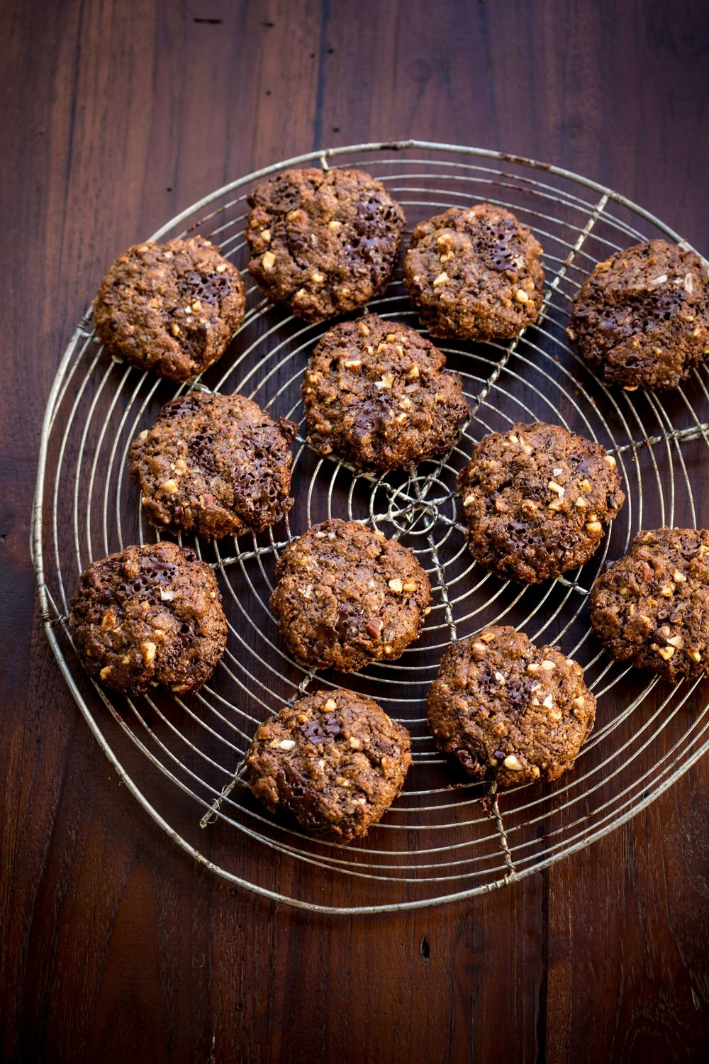 Lola's Favorite Almond Chocolate Chip Cookies - Rebecca Katz
