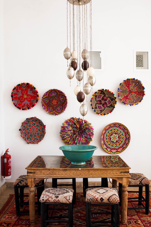 Peacock Pavilions boutique hotel in Marrakech, Morocco – Design by M. Montague - Salon, Atlas Pavilion