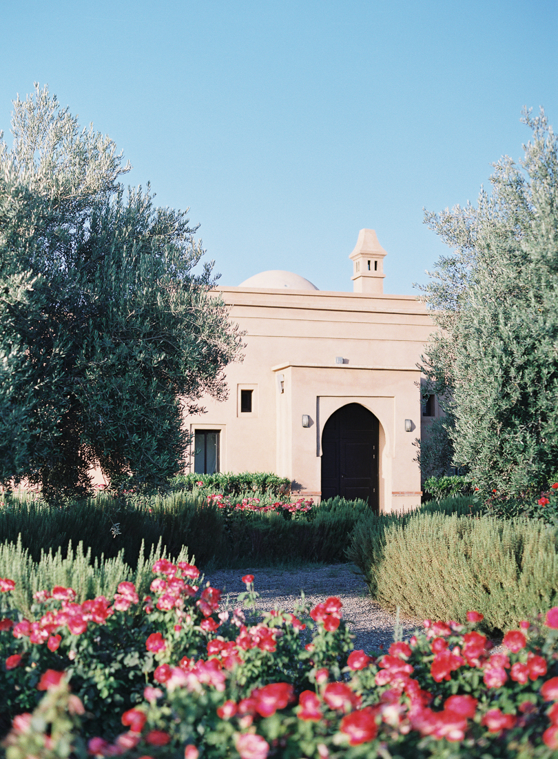 Peacock Pavilions boutique hotel in Marrakech, Morocco – Design by M. Montague - Medina Rose Garden