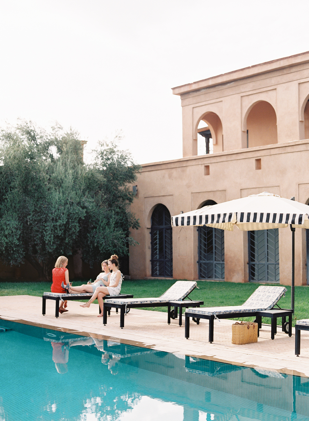 Peacock Pavilions boutique hotel in Marrakech, Morocco – Design by M. Montague - Pool