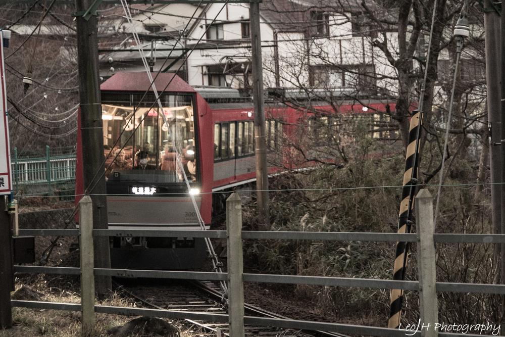 Trainspotting in Hakone