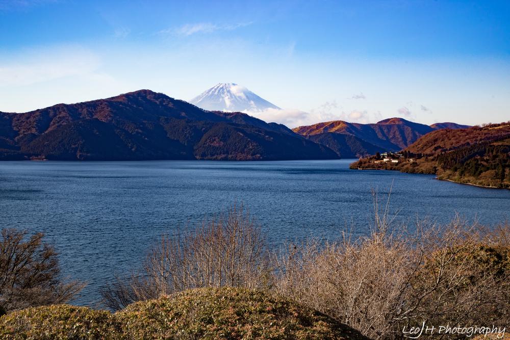 Mount Fuji there