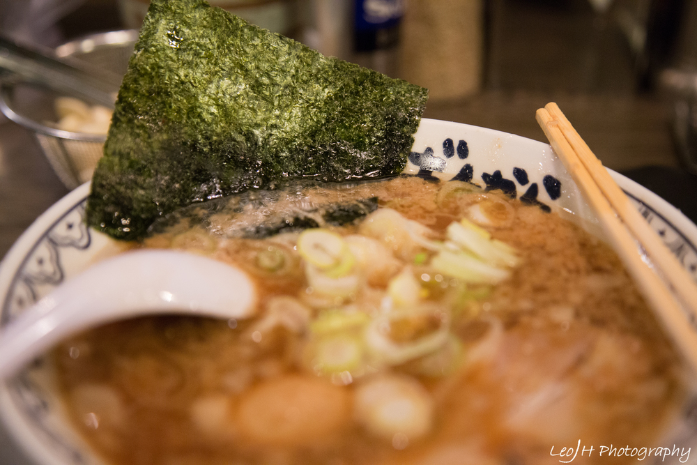 Authentic Japanese ramen; good enough to beat a number of Singapore chains