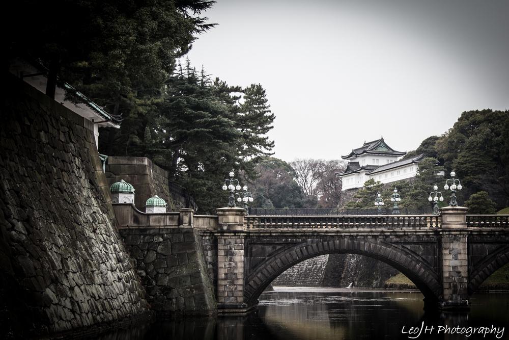 Bridge linking into the castle interior