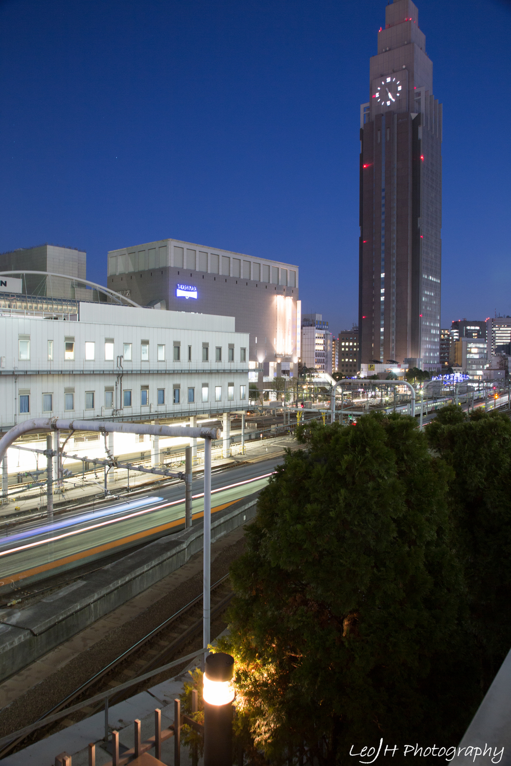 World's busiest train station, Shinjuku. There are even more train tracks than the photo suggests