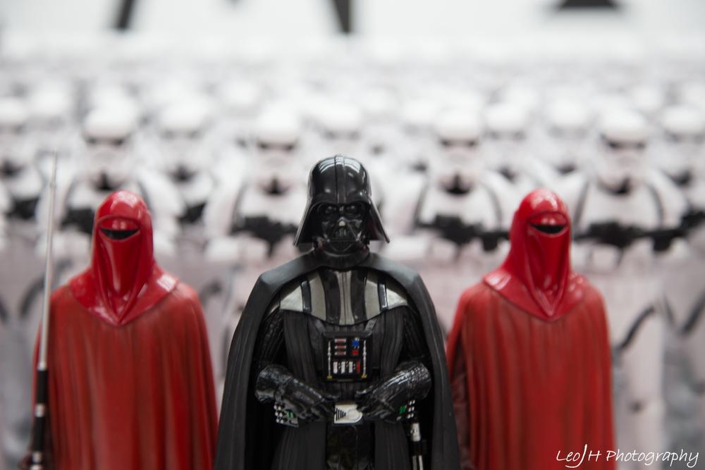 Star Wars merchandise everywhere!!