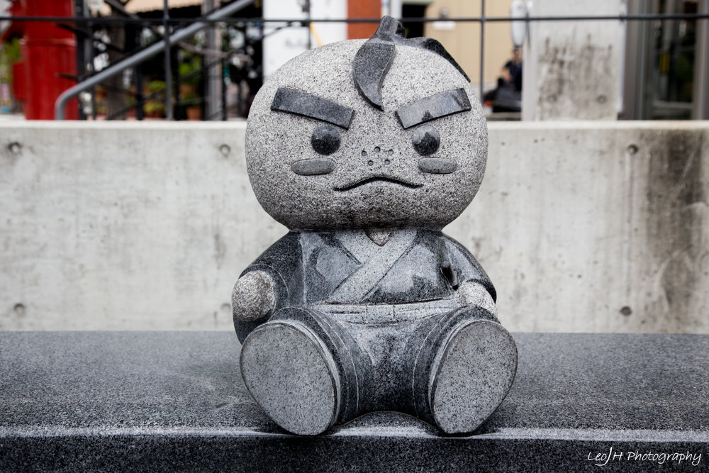 Mascot of Minoh Town, one of the cutest mascots I've ever seen