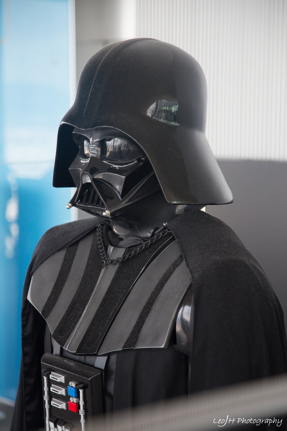 A wild Darth Vader appeared