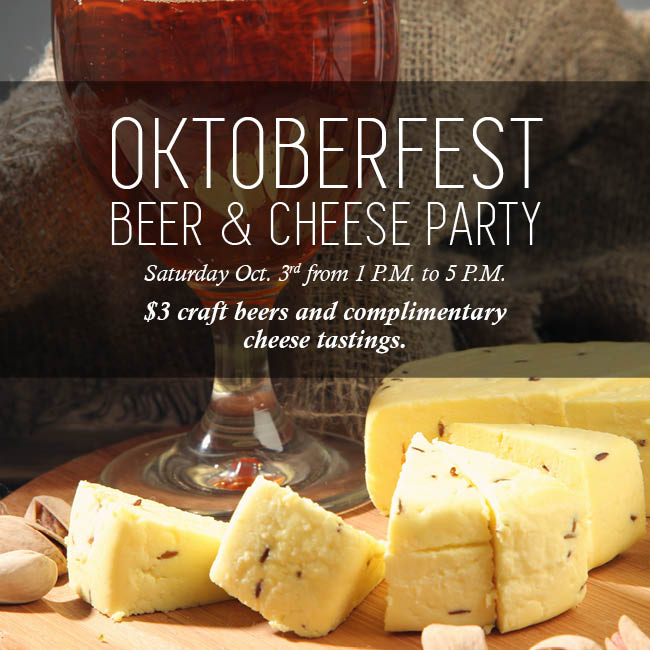 Oktoberfest Beer & Cheese Party