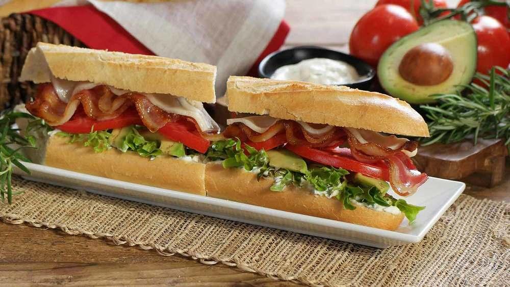 Handcrafted bistro sandwiches
