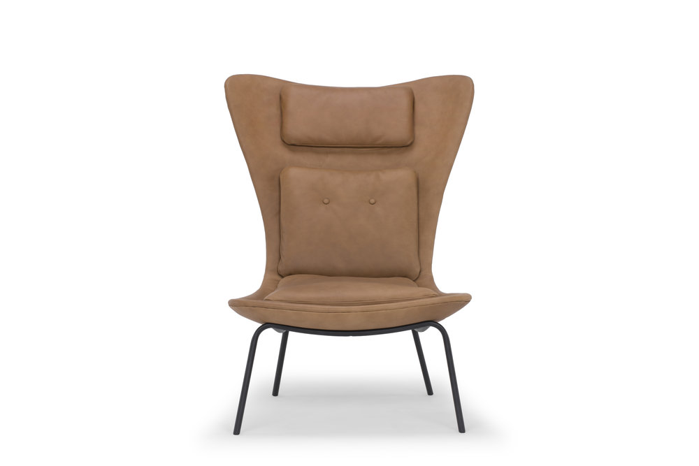 Hermes Chair in Tan Leather
