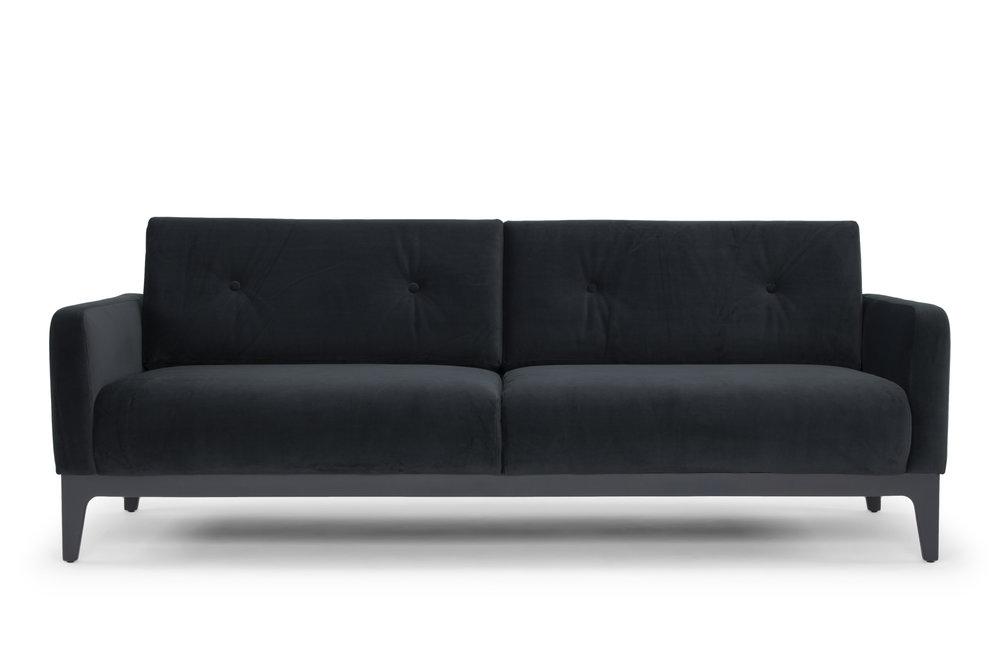 Century Three Seater Sofa in Grey