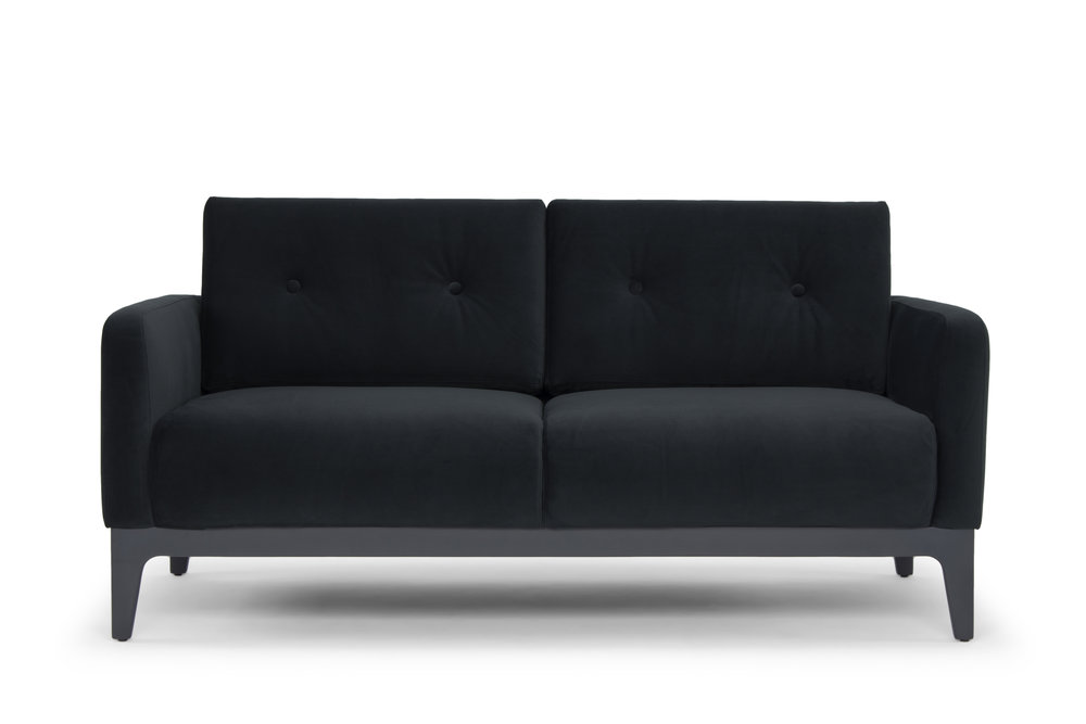 Century Two Seater - Grey Velvet