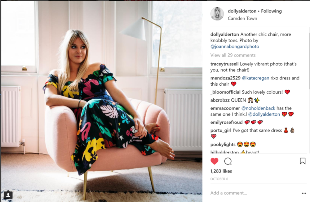 Dolly Alderton. Her new book is out in Feb which looks incredible