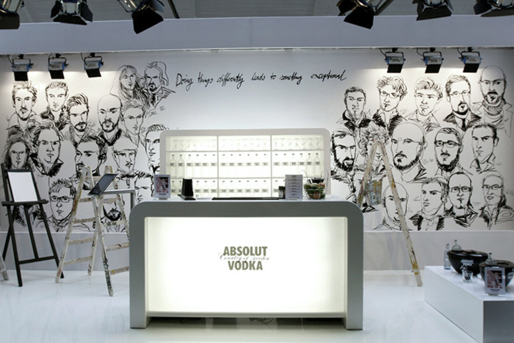 Wall of Fame | Absolut Vodka